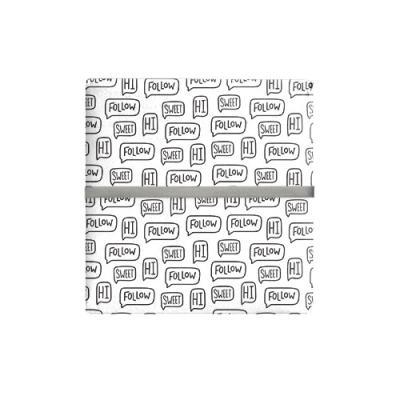 모던 팔로우 포장지 (2장)