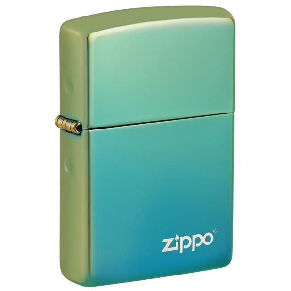 ZIPPO 49191ZL Classic High Polish Teal Zippo Logo