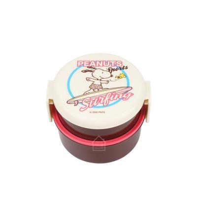 스누피 서프 원형 2단도시락H495083