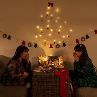 크리스마스 악세사리 헤어핀 헤어밴드 귀걸이 파자마