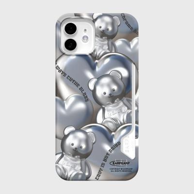 STEEL COVY HEART-GREY(카드수납)