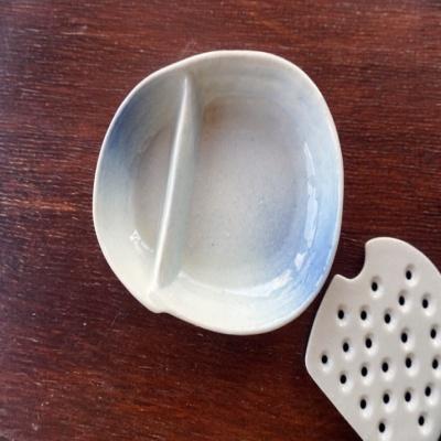 쓰임 좋은 자루소바접시, 돈까스, 두부 그릇