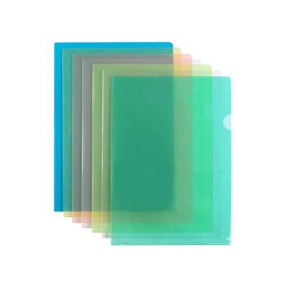 반투명 L자형 A4 클리어화일 20개