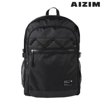 AIZIM 엑스 스트링 백팩 남여공용 학생가방 ASK007LBK