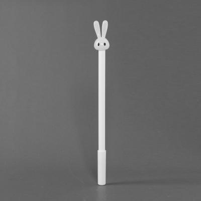 깜찍 토끼 중성볼펜(화이트) (0.5mm)