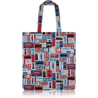 nother London Collection Flat Tote Bag (Blocks) / 나더 런던 컬렉션 플랫 토트백