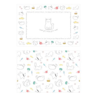 해피데이즈 플레이스 매트 - House cat