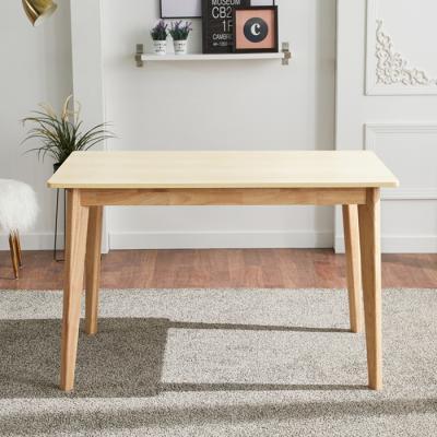 유럽형 고무나무 4인식탁 테이블 FN701-2