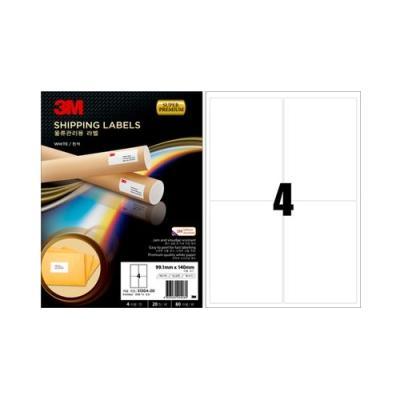 3M 슈퍼 프리미엄 물류관리용 라벨 4칸20매