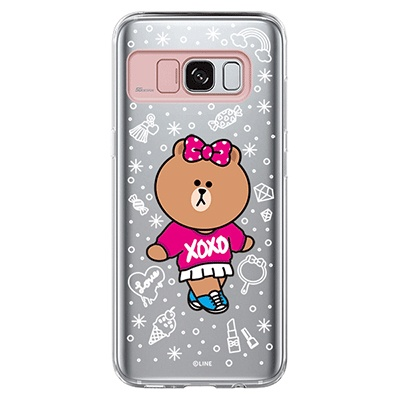 Galaxy S8/S8plus LINE FRIENDS CHOCO XO