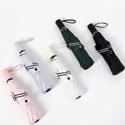 모던더블라인 3단 양우산 접이식 우산 양산 W45D99A