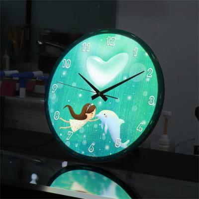 ng141-LED시계액자35R_소녀의꿈속여행A
