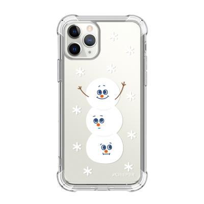 뮤즈캔 ADEEPER 아이폰 11 프로 눈사람 스티커 케이스