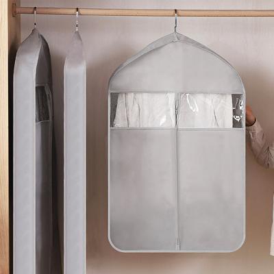 와이드 투명창 의류 옷 양복 코트 덮개 커버 (소)