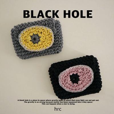 에이치알씨 블랙홀 카드지갑 (블랙/그레이)