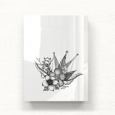 꽃두들 아크릴 일러스트 그림액자by이그린(272081)