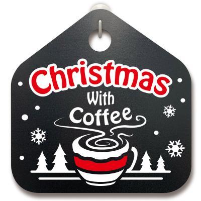 크리스마스알림판_커피와 함께 크리스마스
