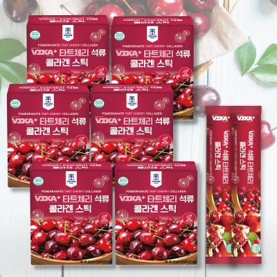몽모랑시 타트체리 석류 콜라겐 스틱 6BOX (180포)