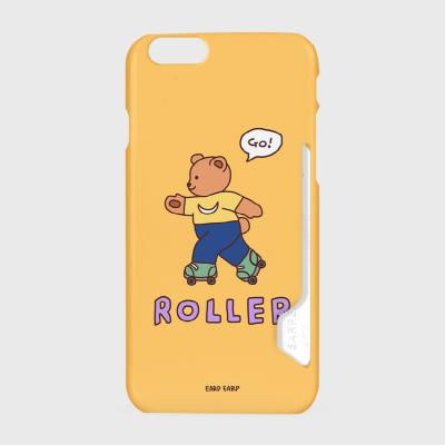 Roller bear-mustard(카드수납케이스)