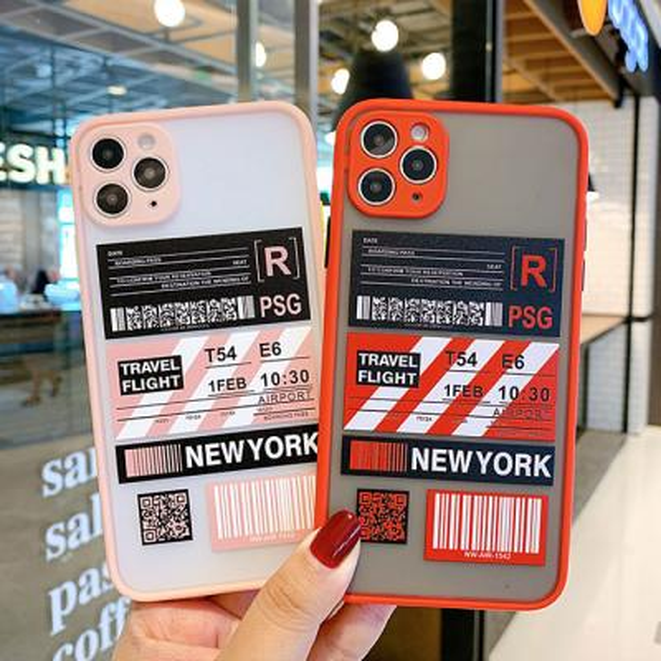파스텔 라인 뉴욕케이스(아이폰11)