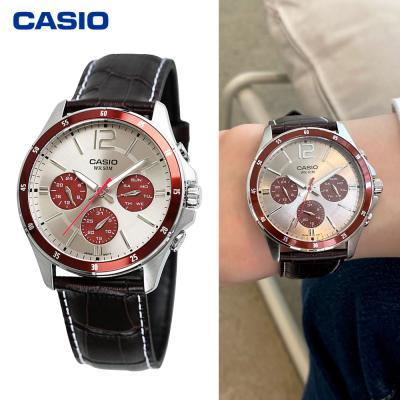 카시오 남성용 멀티펑션 시계 MTP-1374L-7A1