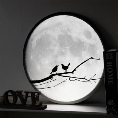 no156-LED액자45R_밤하늘보름달