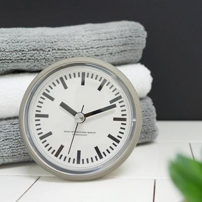 [시우아트] 레트로 욕실시계 (방수/흡착)