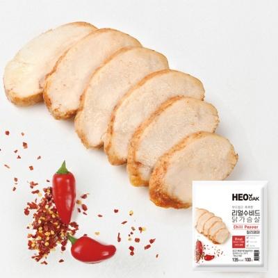 [허닭] 리얼수비드 닭가슴살 칠리페퍼 100g