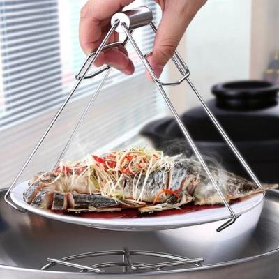 [쿠킹스]스텐 접시 냄비집게(18.5x8.5cm)