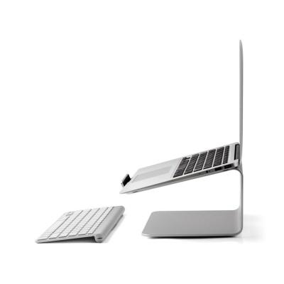회전식 알루미늄 노트북거치대 맥북 받침대 LCNS170