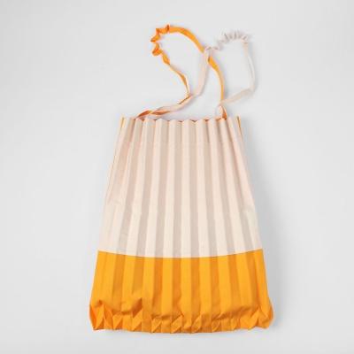플리츠가방 에코 숄더 데일리 캔버스백 옐로우