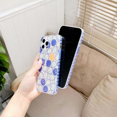아이폰 12 11 XR SE2 X 스마일패턴 투명 케이스 모음