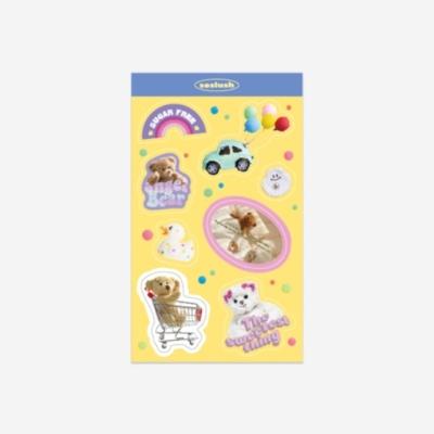쏘슬러시 콜라주스티커- toy world