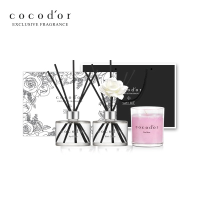 코코도르 디퓨저 캔들형 선물세트 (디퓨저 2개+캔들)
