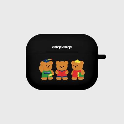 Smart bear friends-black(Air pods pro)