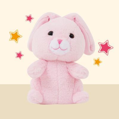 쫑긋토끼인형_핑크
