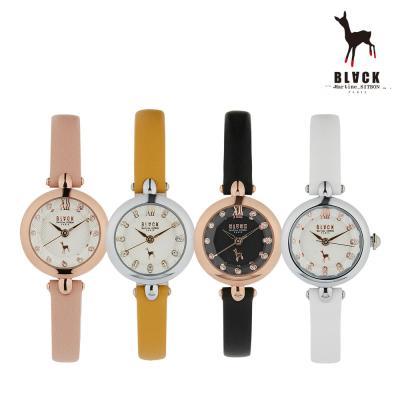 [블랙마틴싯봉] 여성 가죽 손목시계 BKL1901L