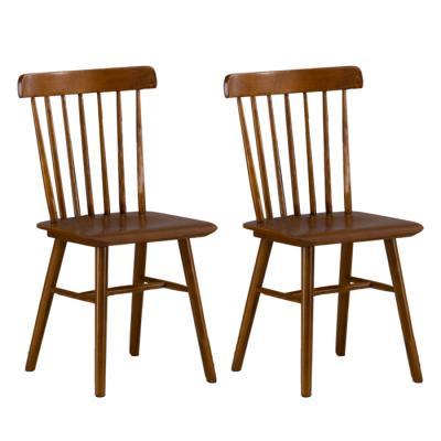 [랜선할인]유럽형 고무나무800 식탁 의자 2개 FN702-5