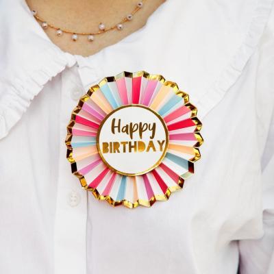 [빛나파티]로즈 생일 뱃지 생일배지 Birthday Badge