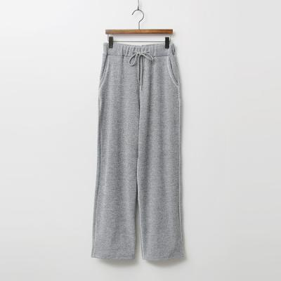 Melange Straight Pants