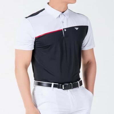 골프웨어 골프복 반팔 티셔츠 남성 기능성 라운딩 D22