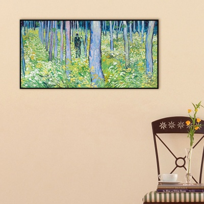 [THE BELLA] 고흐 - 숲을 산책하는 남녀 (연인이 있는 관목 풍경) Undergrowth with Two Figures