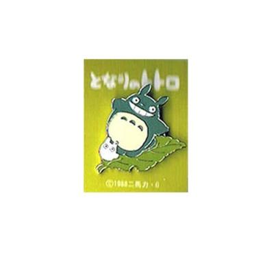 [이웃집 토토로] 핀즈뱃지(대토토로_나뭇잎)