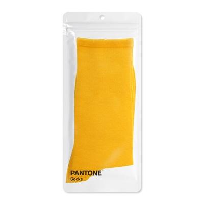 팬톤삭스 샤프론 옐로우 Saffron Yellow 장목 양말