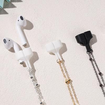 에어팟 분실방지 메탈 목걸이 블루투스 이어폰 고리