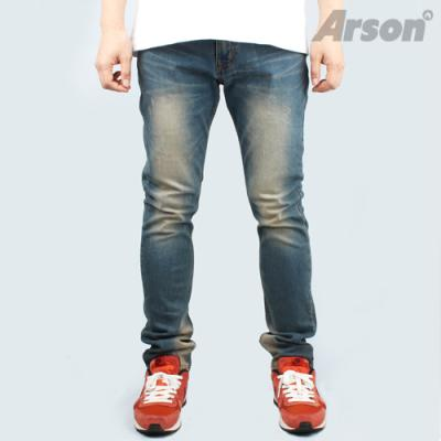 [알슨] ARSON #130530 SLIM STRAIGHT JEANS (BLUE)