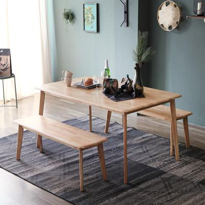 [에인하우스] 마티나 6인 식탁세트 (벤치2)