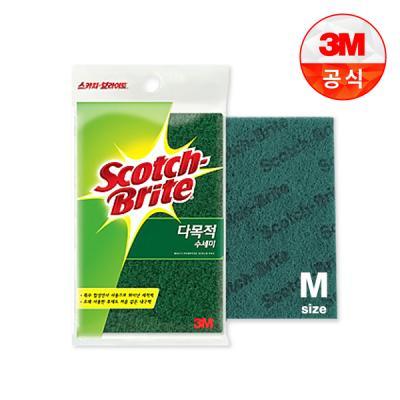 [3M]다목적 수세미(중) 1입(찌든때세척용)