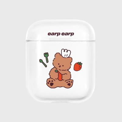 strawberry time-clear(Air pods)