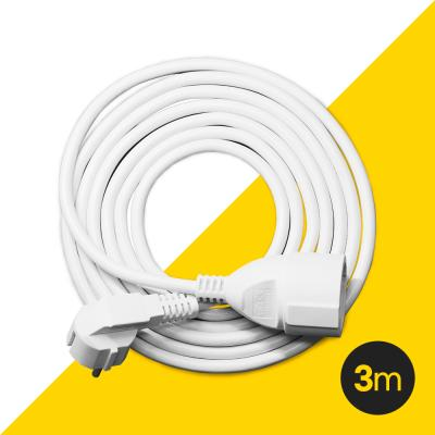 [파워존] 고용량멀티탭 유커먼 연장케이블 3M